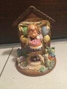 Hummel Goebel Happy Birthday Hummelscape 925-d And 541 Sweet As Can Be Figurine