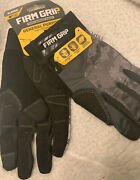 3 Pairs Lot Firm Grip Tough Working Gloves, General Purpose Xl