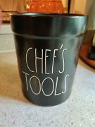 Rae Dunn Black Ceramic Canister Chefand039s Tools