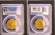 2 Swiss Francs 1918 Gent Gold Plated Official Emergency Money Bu Pcgs Ms65
