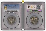 1 Dm Currency Coin 1957 D Proof Pcgs Certified Pr65 Only 100 Ex 2