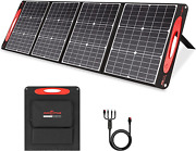 Rockpals Portable Solar Panel 200w/18v/36v - Qc 3.0andtype C Output With Foldable