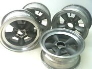 Original 1965 American Torque Thrust Alloy Wheels. Ford Shelby Mustang