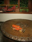 Rare Georg Levy Gely Road Sweeper 1930 Wind Up Tin Penny Toy Germany Tinplate