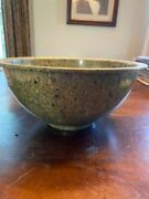 Texas Ware 125 Mixing Bowl Green Confetti Melamine Melmac Speckled
