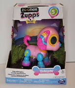 Zoomer Zupps Interactive Tiny Puppy Dog Poodle Dawn Sounds And Tricks Pink Sealed
