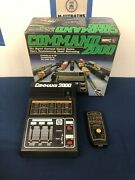 Mrc Command 2000 Digital Control W/ Walkaround Remote For G, Ho And N Scale