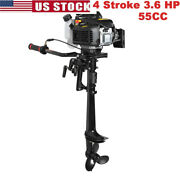 4 Stroke 3.6 Hp Outboard Motor 55cc Boat Engine With Air Cooling System Best Usa