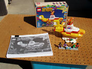 Lego The Beatles Yellow Submarine Model 21306 Toys Building Completed + Issue