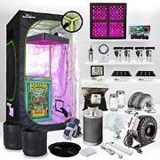 Thebudgrower   Hydroponic Growing System   Grow Tent Kit Complete With Turn-key