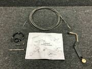 0510105-394 / 0742166-1 Cessna A185f Tailwheel Lock Kit W/ Cable And Bellcrank