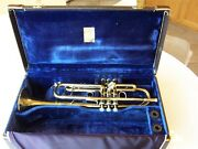 1965-66 Bach Corp. Stradivarius 37 Ml Professional Trumpet And Case- Great Player