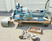 South Bend 9x 36 Precision Belt Driven Lathe With 3 And 4 Jaw Chucks And Tolling