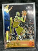 1996-97 Topps Chrome Kobe Bryant Sharp Card 100 Authentic Rookie Rc 138 Lakers
