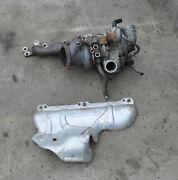 2005 Volvo S40 T5 Exhaust Manifold Turbo Used For Parts Or Rebuild Turbocharger