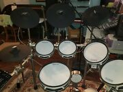 Simmons Sd1200 Electronic Drum Kit With Mesh Pads - With Expansion Kits