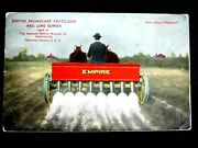 1911 Richmond Indiana Empire Broadcast Fertilizer Agriculture Advertising Post