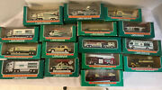 Lot Of Mini Hess Toy Trucks Set From 1998-2013 Unopened 16 Boxes