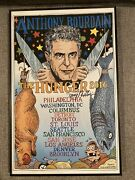 Anthony Bourdain The Hunger 2016 Tour Poster Signed By Artist Tony Millionaire