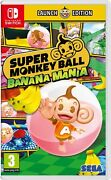 Super Monkey Ball Banana Mania Launch Edition Switch Brand New And Sealed