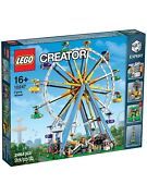Lego Ferris Wheel 10247, Brand New Factory Sealed. Ships In 1 Day.