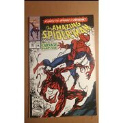 Amazing Spider-man 361 1st And 2nd Print + 363 Carnage Asm Keys