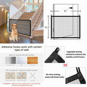 Nwk Magic Pet Gate For The House Stairs Providing A Safe 8 Count Pack Of 1