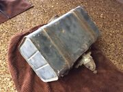 Vintage Steel Gas Tank For Go Kart Mini Bike -with Mount And Petcock