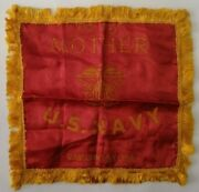 Wwii Guantanamo Bay Deployed Soldier Sweetheart Pillowcase Mother Vtg Cuba 1940s