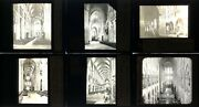 Magic Lantern Slide Lot - French Cathedrals - Chartres Reims Notre Dame - Lot6