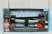 Marshmallow Toy Gun Pump Action Launcher Indoor Outdoor Age 6+ Up To 30 Feet New