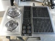 Jenn Air C226 Downdraft Cooktop Stainless And Black