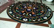 18 Table Marble Inlay Top Antique Coffee Dining Pietra Dura Home Decor B138