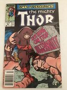The Mighty Thor 411 Marvel Comics Newsstand 1st App New Warriors