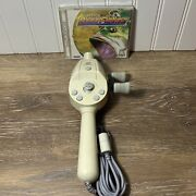 Testedlot Sega Dreamcast Fishing Controller And Bass Fishing Game/complete
