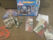 Sears Disney World Town Square Play Set New In Box Open Box