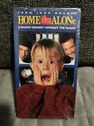 Home Alone Vhs 1990 Sealed Rare Blue Tape Version 20th Century Fox Double Stamp