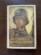 All Quiet On The Western Front By Erich Maria Remarque First Edition World War I