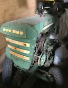 1959 Bolens Ride-a Matic Yard Tractor In Working Condition - With Plow