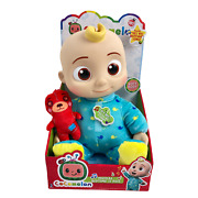 Cocomelon Musical Bedtime Baby Jj Doll And Teddy Bear Yes, Yes, Bedtime Song