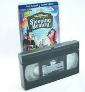 Sleeping Beauty Vhs 1997 Limited Edition Collectible Disney Series Vintage