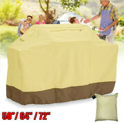 Large Heavy Duty Bbq Grill Cover Gas Barbecue Outdoor Waterproof 58 64 72 600d