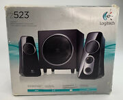 New Logitech Z523 2.1 Speaker System 40 Watts With Subwoofer