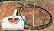 Vintage Johnson Omc Outboard Motor Control 8and039 Shift And Throttle Cables