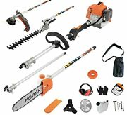 Proyama 26cc 5 In 1 Trimming Tools Multi Functional Sets Gas Hedge Trimmer St...