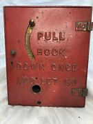 Vintage Original Gamewell Fire Alarm Box . As-is. Message Me For More Info…