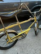 Vintage Iverson Drag Stripper Muscle Bicycle Bike 3 Speed Shifter Yellow