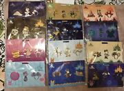 Disney Minnie Mouse Main Attraction Pin Set Complete Lot Of 12 Space Mountain