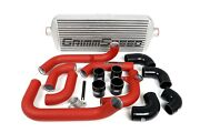 Grimmspeed Front Mount Intercooler Kits Red Pipe For Subaru 08-14 Wrx 090229