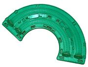 Thomas And Friends Super Station Parts Green Curved Roundhouse Top Curve Track